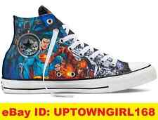 Converse Chuck Taylor ALL STAR Shoes Justice League DC Comics Flash Batman New