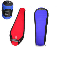 Camping -10 ~ -25℃ Outdoor Waterproof Duck Down Sleeping Bag Portable Blue New
