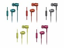 SONY MDR-EX750AP 'h.ear in' In-ear Headphones Blue Red Black Yellow Pink NEW