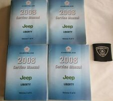 2008 JEEP LIBERTY (4 VOLUME SET) SERVICE SHOP REPAIR MANUALS FACTORY OEM