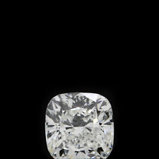 1/2 Carat Cushion Cut:Very Good Natural Loose H-Color Diamond VS1 GIA Certified