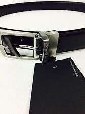 New Armani Exchange Mens A/X REVERSIBLE DRESS BELT