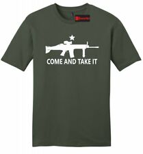 Come And Take It Mens Soft T Shirt Gun Lover Ar15 Rights Gift Tee Z2