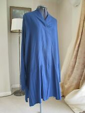NEW FLAX quality rayon smock artist tunic top LARGE OSFA
