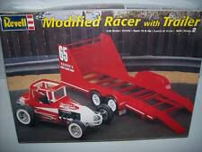 REVELL MODIFIED RACER WITH TRAILER  COMBO FACTORY SEALED 1/24  Kit  #85-4150