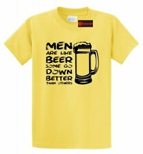 Men Like Beer Go Down Better Than Others Funny T Shirt Sex Rude Humor Tee