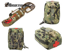 Military First Aid Kit Medic Pouch Medic Bag Molle Military Airsoft Paintball A
