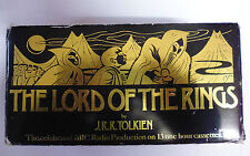 Tolkien's The Lord Of The Rings 13 Tape Cassettes  Audio Box Set BBC Radio