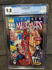 NEW MUTANTS 98 CGC 9.8 WHITE PAGES 1ST APP DEADPOOL LIEFELD WOLVERINE CABLE