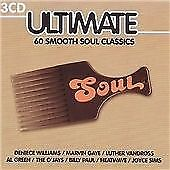 ULTIMATE SOUL 60 SMOOTH SOUL CLASSICS - NEW  {CD}