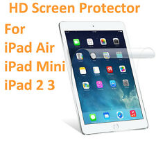 Dustproof HD Ultra Clear Screen Protector Film Cover Guard For iPad 2 3 Mini Air