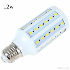 LED Corn Light Bulb SMD 5730 E27 E26 12W Power Cool White Lamp DC 12V Lot