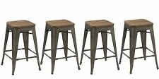 "Union Rustic Desiree 24"" Bar Stool Set of 4"