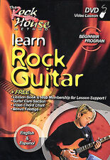 Rock House: Learn Rock Guitar Beginner - 2nd Edit  DVD
