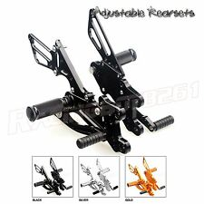 CNC Racing Adjustable Rearsets Rear Sets Footpegs For Honda CBR600RR 2007 2008