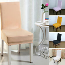 Hot Elastic Fabric Seat Covers Kitchen Bar Spandex Chair Cover Hotel Restaurant