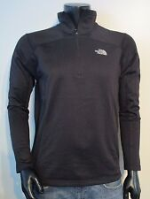 NWT Mens TNF The North Face Cinder 100 1/4 Zip Pullover Fleece Jacket - Black