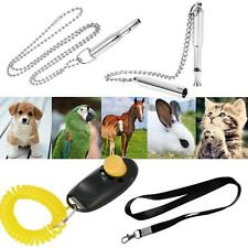 New Pet Dog Cat Training Ultrasonic Whistle Clicker Silent Control Barking P2B9