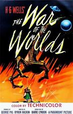 Science Fiction Horror The War of the Worlds Art Canvas Movie POSTER 18x12""