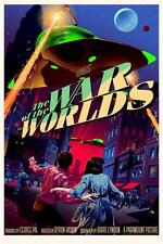 Horror Science Fiction The War of the Worlds Art Canvas POP Movie POSTER 18x12""