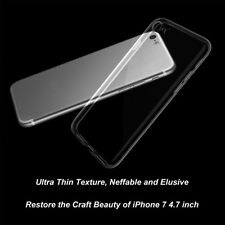 UK STOCK Silicone Gel Rubber Protector Case Cover Skin For Apple iPhone 7 4.7""