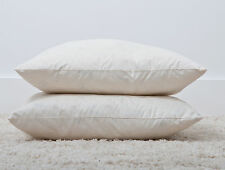 "18"" x 18"" Duck Feather Cushion Pad Insert Inner Soft Unbleached Cotton Cambric"