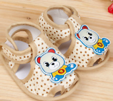 Baby Infant Girl Boy Crib Shoes 0-6 6-12 12-18 Months