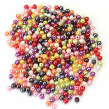 500PCS/Set Glass Pearl Round Spacer Loose Beads 4mm For Diy Jewelry Making