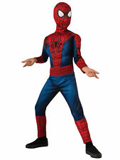 Spiderman Spider-man Deluxe Muscle Chest Marvel Superhero Boys Costume