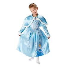 Girls Disney Princess Cinderella + Shrug Book Day Fancy Dress Costume Outfit