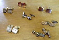 Job Lot of 7 Pairs of Cuff Links