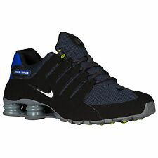 NIKE SHOX NZ 2017 BLACK PARAMOUNT BLUE MENS RUNNING SHOES ** BEST SELLER