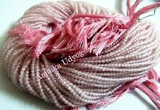 Top Quality Natural Rose Quartz Rondelle faceted 2mm Beads Strand 13 inches Long