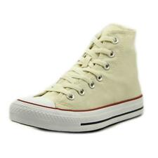Converse Chuck Taylor All Star Hi Youth  Round Toe Canvas Ivory Sneakers