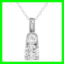 WONDERFUL NEW Necklace 3.10ctw Cubic Zirconia 925 SILVER