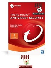 Trend Micro Antivirus or Trend Micro Internet Security 2018 - 1 User, 1 Year