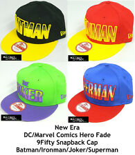 NEW ERA DC/MARVEL COMIC HERO FADE 9FIFTY SNAPBACK CAP - ASSORTED