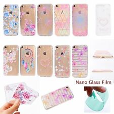 Film+Fashion Flower Floral Cottage SOFT RUGGED GEL Back Case Cover For iPhone