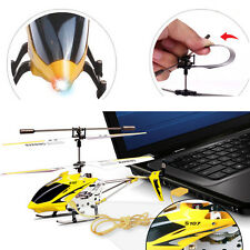 Syma S107G 3 Channel 3.5 CH Mini Metal Remote Control RC Helicopter Gyro LED