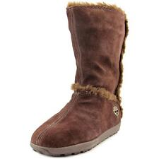 Timberland Mukluk Pull-On Fur  W Round Toe Suede  Mid Calf Boot NWOB