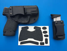 SW M&P Shield 9/40 Kydex IWB Holster + Magazine Holster + Grips! Combo Carry Set