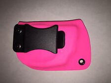Pink Shield XDS LCP Nano Glock SIG LC9 Kydex IWB Holster Crimson Trace Laser Max