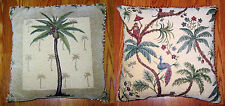 YOUR CHOICE PALM TREE DESIGN TAPESTRY TOSS PILLOWS