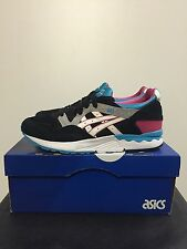 Asics Gel Lyte V 5 Black White Men Running Shoes Trainers New H508L-9001
