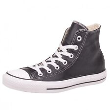 Converse CT Hi Black Shoes Sneaker Chucks Chuck Black leather classic 132170C.