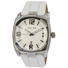 Police White Face Edge Mens Analog Casual White Watch PL12963JS-01