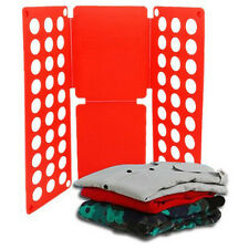 Clothes Casual T-Shirt Folder Magic Folding Board Flip Fold Laundry Adjustable^^