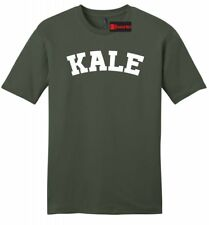 Kale Mens Soft T Shirt Funny University Food Vegan Vegetarian Health Tee Z2