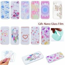 THIN Floral Design SOFT GEL TPU Rubber Back Case Cover Skin For Samsung Galaxy J