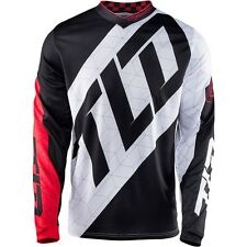 TROY LEE DESIGNS GP JERSEY / QUEST / WHITE / BLACK / RED